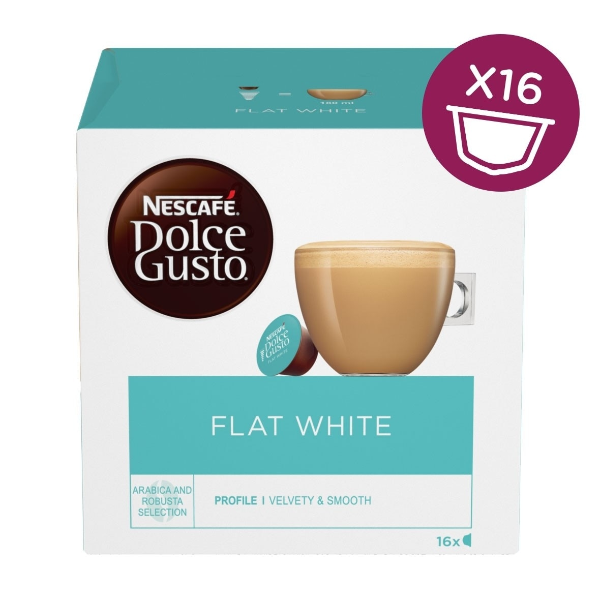 Flat white single pack